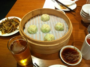 Steamed Buns at Din Tai Fung