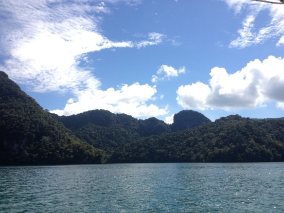 The first stop was Pulau Dayang Bunting (Isle of the Pregnant Maiden). Can you guess why it's named that?