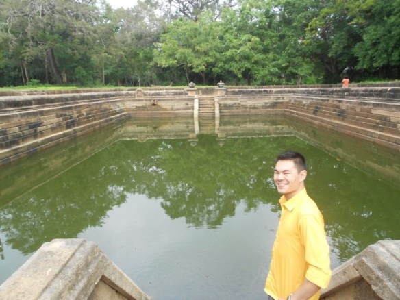 Kuttam Pokuna (Twin Pools) was one of the stops. The area was so well preserved you could almost picture an ancient civilization bathing here on a warm summer afternoon.