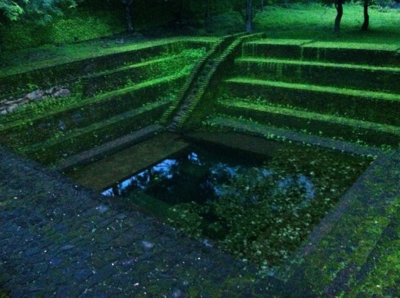 One of many pools that was used for bathing.