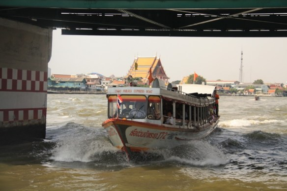 Public river ferries that shuttle people around for a small fee.