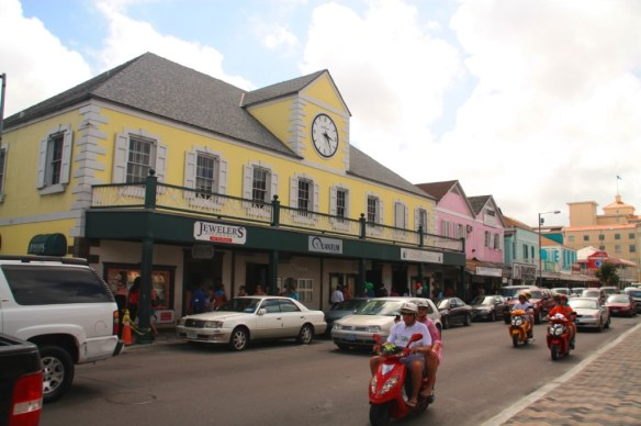 Downtown historic Nassau.