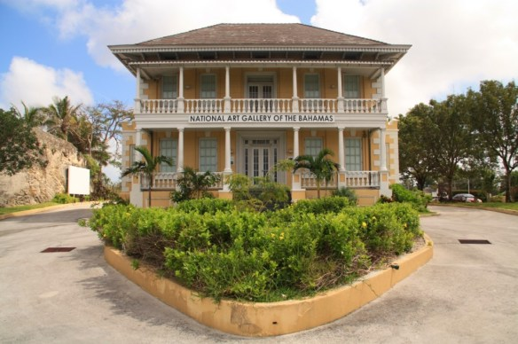 The gallery was opened in 1996 and housed in Villa Dolye, a historic state home from the 1860s.