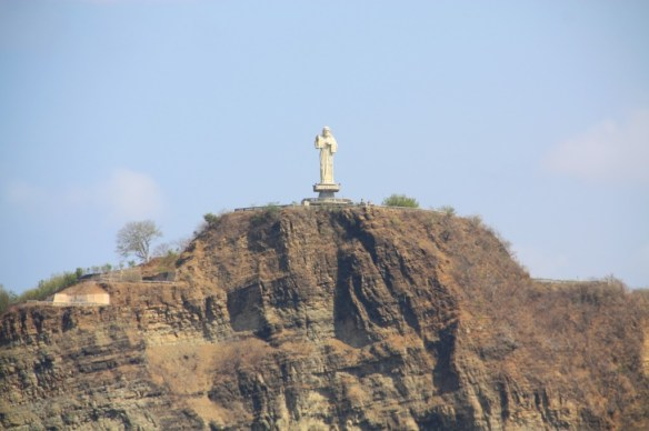 Standing at 26 m high, this is the largest statue of Christ in Central America.