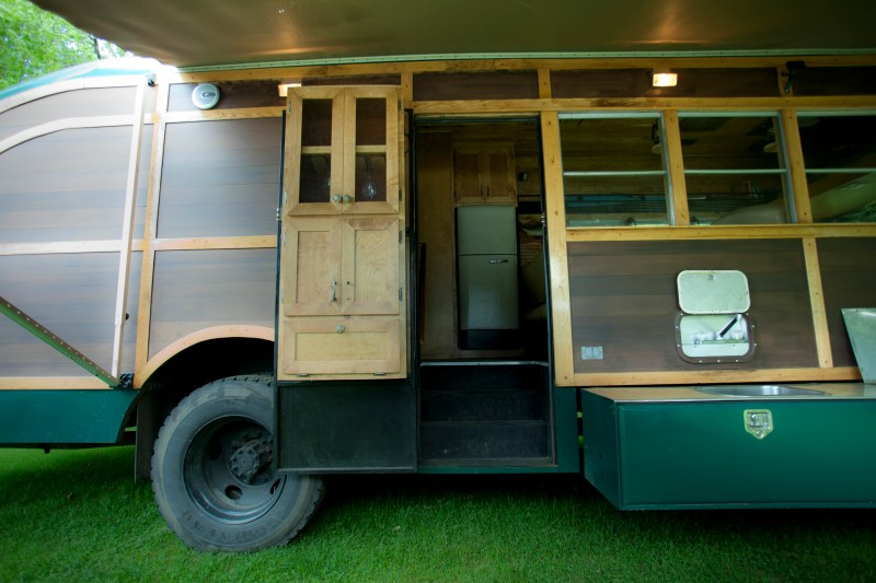 Large Of School Bus Camper