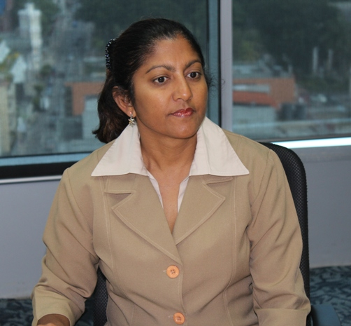 Senior Facilitation & Aftercare Officer, Ms. Nyala Singh.Photo courtesy David F Roberts