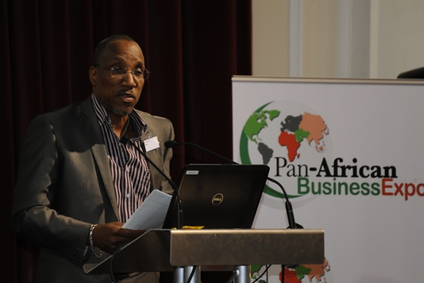 Speaking at the Pan African Business Expo