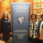 Distinguished panel of female lawyers. Photo courtesy CaribDirect