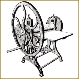 Early Etching Press