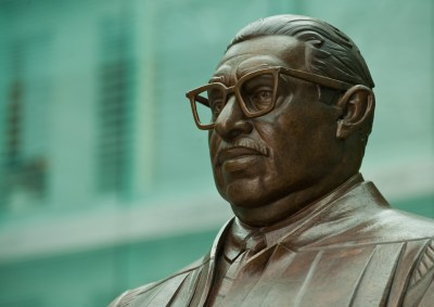 Bust of Thurgood Marshall