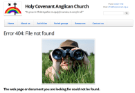 Holy Covenant missing file