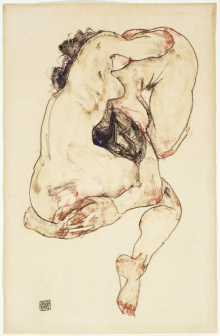 Egon-Schiele: The Embrace