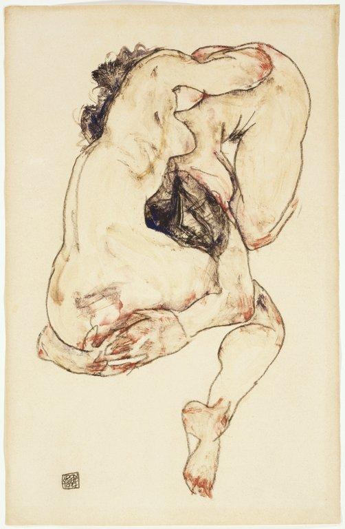 Egon-Schiele: The Embrace