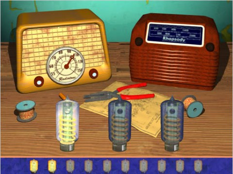 Pre-K-3 Educational game interface