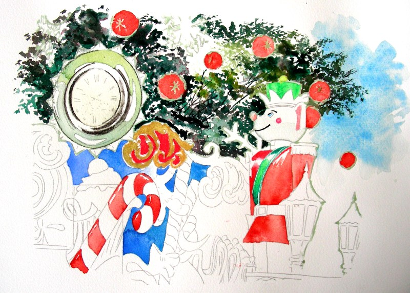 Large Of Watercolor Christmas Cards