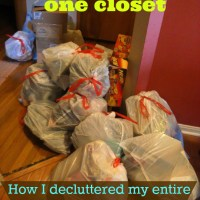 How I Decluttered My Entire House in Six Days