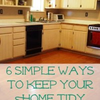 How To Keep A Tidy Home Even When You're Sick