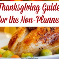 Thanksgiving Guide for the Non-Planner