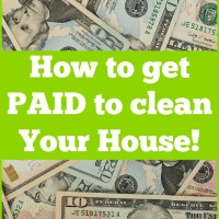 You Could Get Paid $100 to Clean Your House!