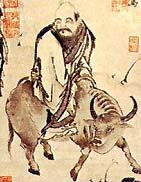 According to legends, Laozi leaves China on hi...