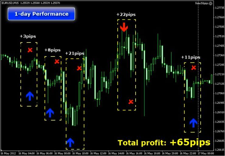 Forex 50 pips a day strategy