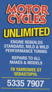 motor cycles unlimited