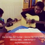 Nhận gia sư dạy đàn Guitar tại quận 6