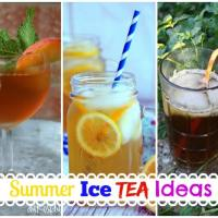 Summer Ice Tea Ideas