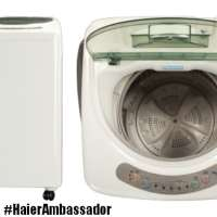 Haier Portable Compact Washer Review #HaierAmbassador