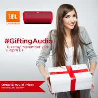 Join Us for the #GiftingAudio Twitter Party Nov 25 8 pm EST