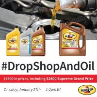 RSVP for the #DropShopAndOil Twitter Party Tuesday January 27th 1pm ET