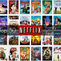 Top 50 Family Features on Netflix