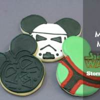 How to Make Your Own Mickey Mouse Star Wars Stormtrooper Cookies