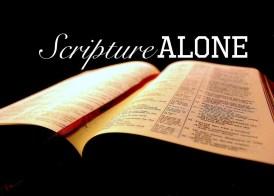 scripturealone