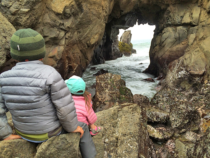 Pfeiffer Beach sea cave