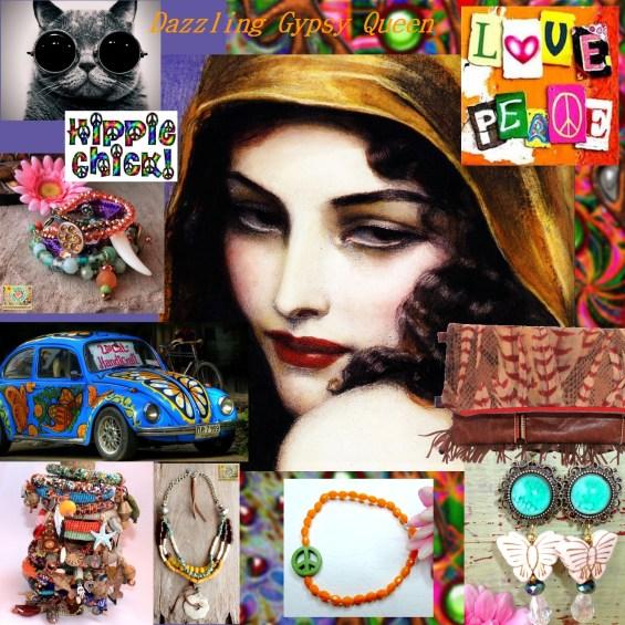 Bohemian, African & Ibiza OOAK Statement Jewelry & more - www.dazzlinggypsyqueen.com