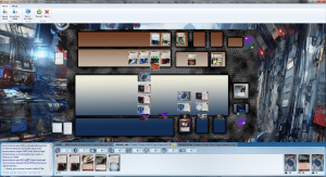 A Game of Android:Netrunner on OCTGN in progress