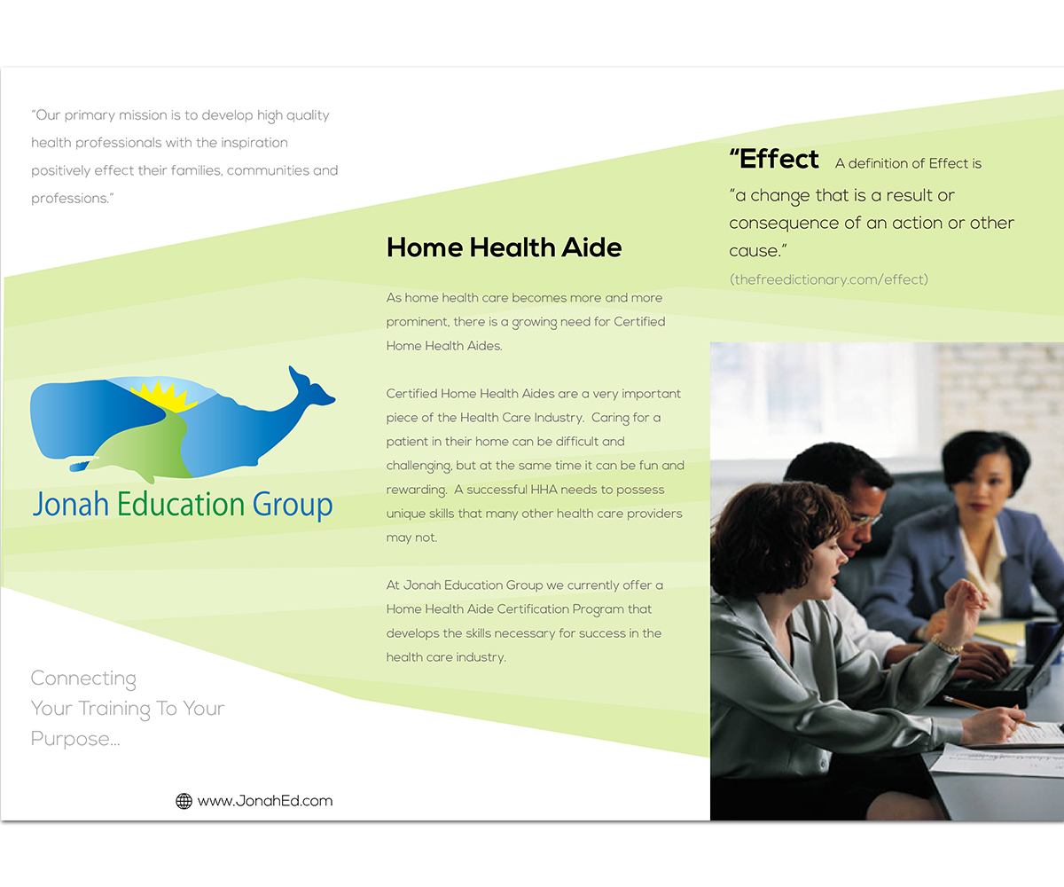 Education Brochure Design for a Company by Sandaru   Design  3732282 Brochure Design by Sandaru for this project   Design  3732282