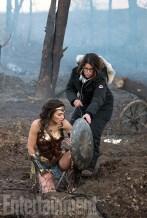 Wonder Woman (2017) Gal Gadot and Director Patty Jenkins