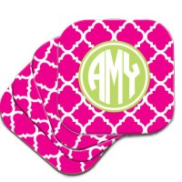 monogram monday: coasters