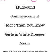 summer 2013 reading list