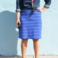 Chambray + Stripes for Fall