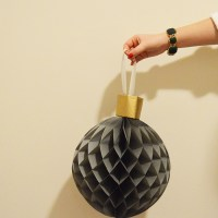 DIY Giant Honeycomb Ornaments with IKEA DC