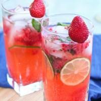 {Thirsty Thursday} Strawberry Mojito