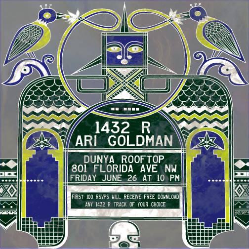 1432 R and Ari Goldman at Dunya