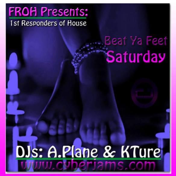 FROH Presents Beat Ya Feet Mix on Cyberjamz Internet Radio
