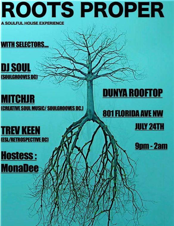 Roots Proper with DJ Soul, Mitchjr & Trev-ski at Dunya