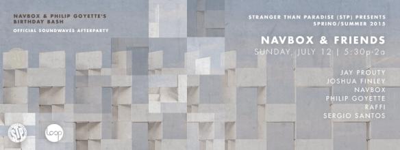 Navbox & Friends Navbox & Philip Goyette's Birthday Bash at Eighteenth Street Lounge