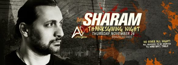 Thanksgiving with Sharam at Soundcheck