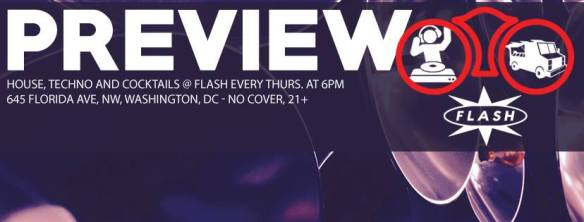 Preview Hotdogs & House Music with Colin C and Johnny Flash at Flash